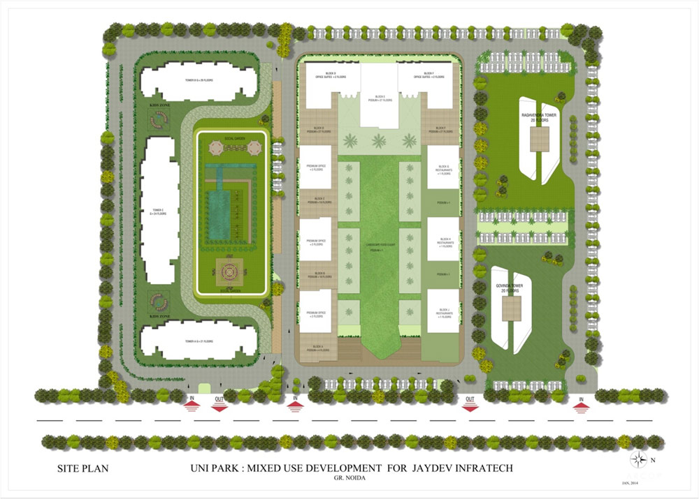 JD Group A Unipark Master Plan